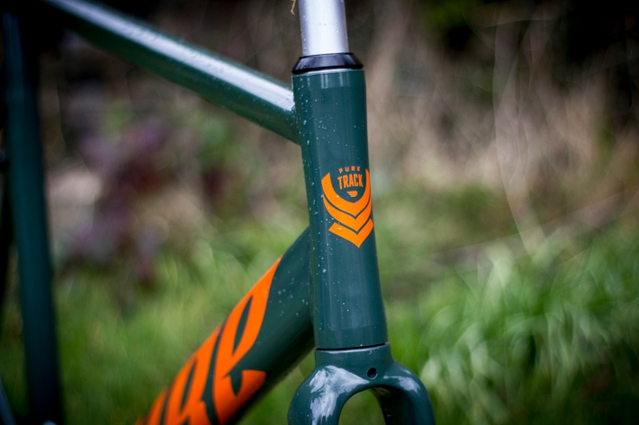 pure fix keirin pro orange green