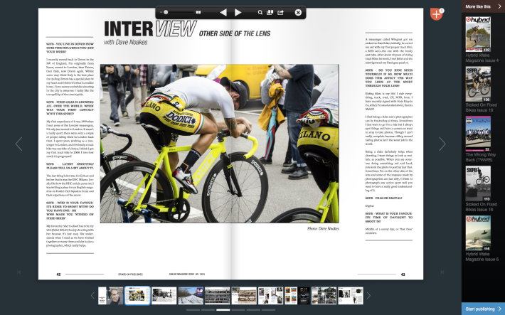 Dave Noakes Photographer Stoked on Fixed Bikes Magazine 2