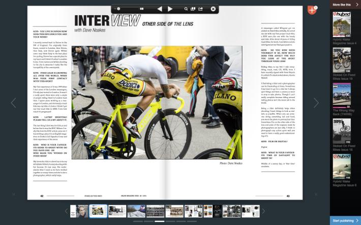 Dave Noakes Photographer Stoked on Fixed Bikes Magazine 2