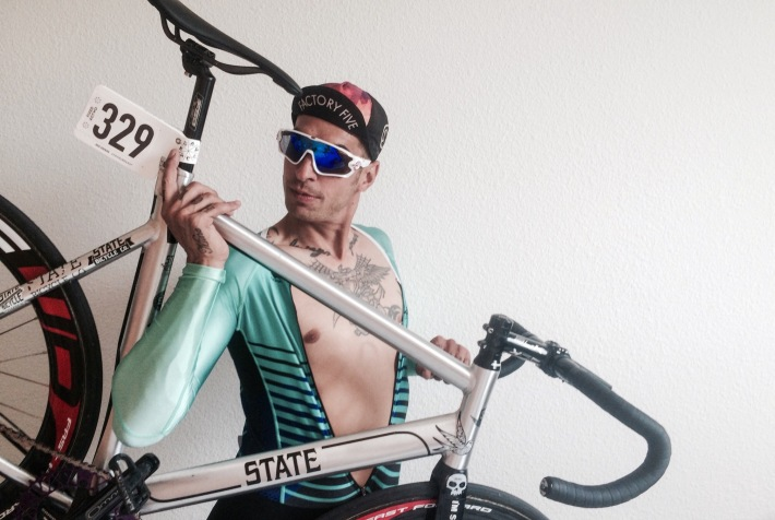 Dave Noakes fixed gear State Bicycle co